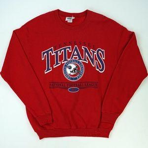 Tennessee Titans Vtg Sweatshirt Crewneck 2001 Vtg